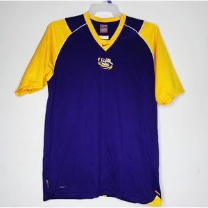Mens Nike Fit Dry LSU Tigers Jersey